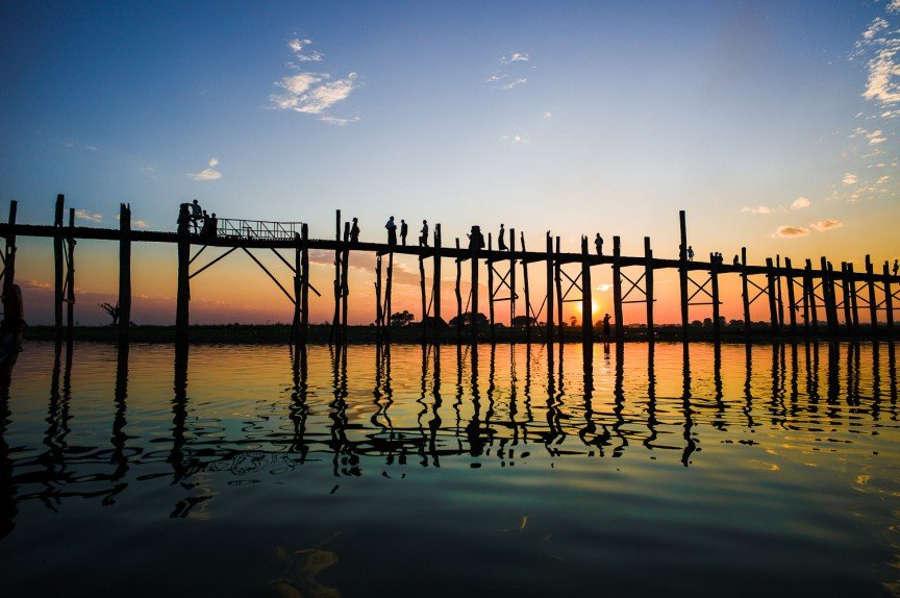 U Bein - Cây cầu gỗ lâu đời và dài nhất thế giới