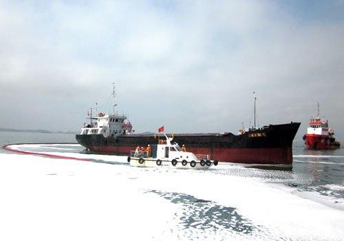 Ứng phó thảm họa cho nhà máy lọc dầu Dung Quất