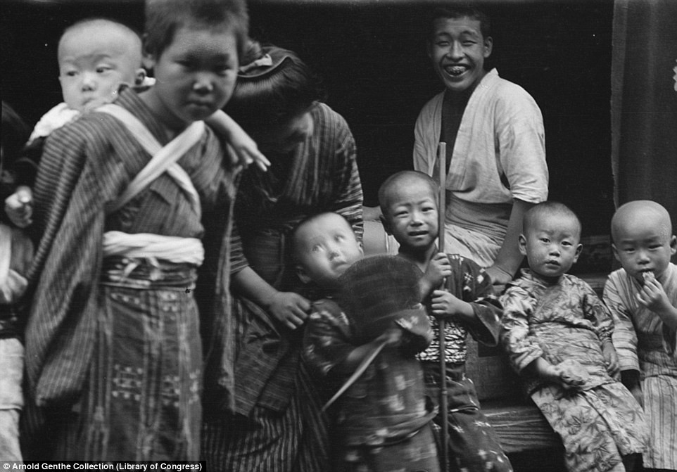 Vẻ đẹp Nhật Bản 100 năm trước