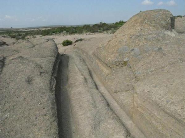 Vết xe khổng lồ thời tiền sử