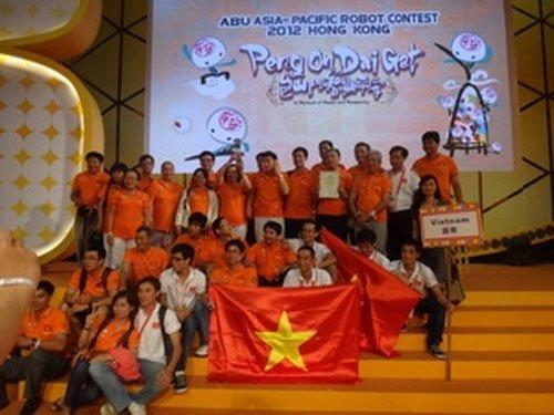Việt Nam đoạt giải nhì cuộc thi Robocon châu Á - TBD