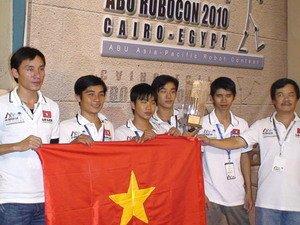 Việt Nam giành giải nhì cuộc thi Robocon quốc tế
