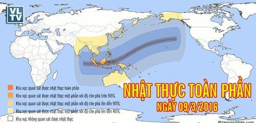 Việt Nam sắp được chiêm ngưỡng nhật thực