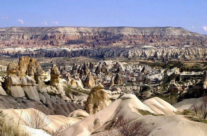 Vườn quốc gia Goreme và khu núi đá Cappadocia