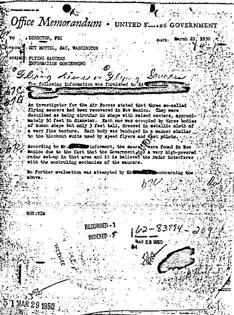 Xuất hiện bằng chứng người ngoài hành tinh tới Mỹ