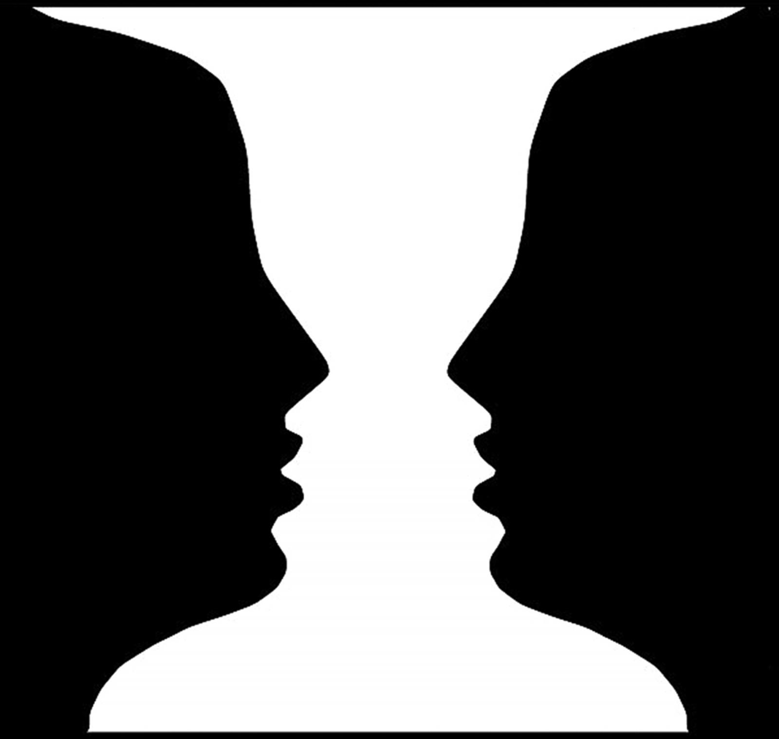 """Ảo ảnh thị giác """"đau não"""" nhất: Bức hình này nền trắng, hay nền đen?"""