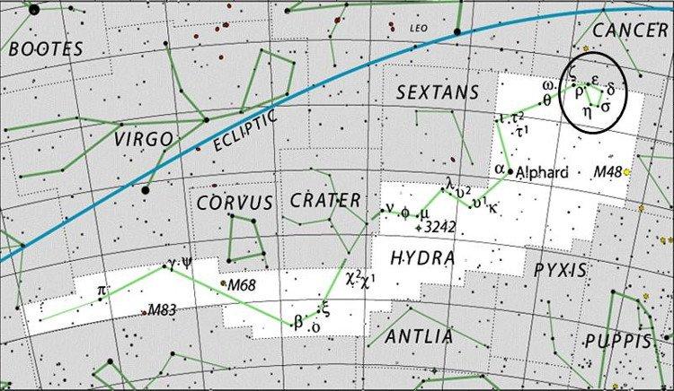 Danh sách 88 chòm sao trong thiên văn học