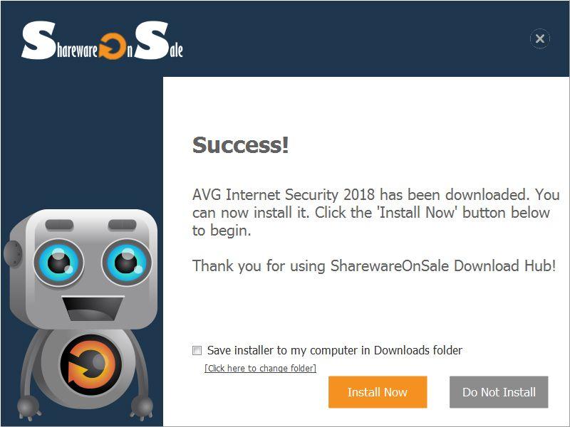 Miễn phí bản quyền 1 năm AVG Internet Security 2018, giá gốc 1.6 triệu