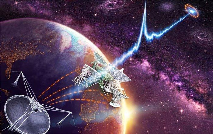 AI phát hiện 72 tín hiệu vô tuyến từ vũ trụ