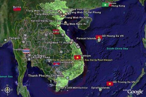 Ảnh vệ tinh phát hiện 1.000 điểm nguy hiểm trên tuyến quốc lộ miền Trung
