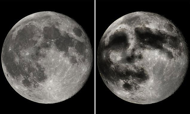 Ảo ảnh người trên Mặt trăng thực chất là gì?