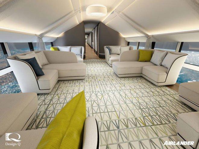 Bên trong chiếc khí cầu lớn nhất thế giới với sàn bằng kính, chuyên chở giới siêu giàu