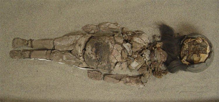 Bí ẩn xác ướp tồn tại cả nghìn năm bỗng nhiên... hóa lỏng