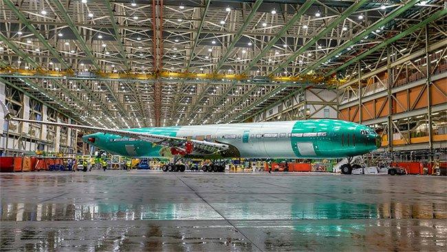 Boeing hé lộ máy bay phản lực hai động cơ lớn nhất thế giới