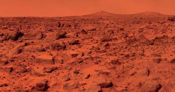 """Các nhà khoa học đã tạo ra được đất sao Hoả """"nhân tạo"""""""