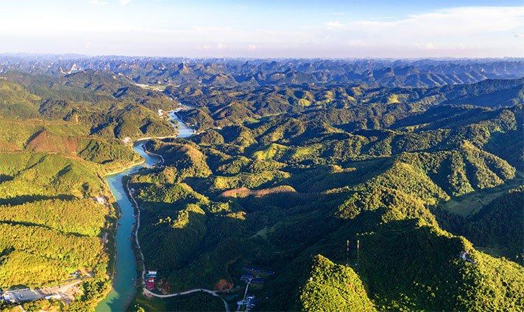 Cảnh sắc Việt Nam đẹp kỳ vĩ nhìn từ trên cao