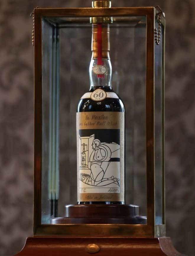 Chai rượu Macallan Valerio Adami độc cỡ nào khiến đại gia châu Á chi 25 tỷ để sở hữu?