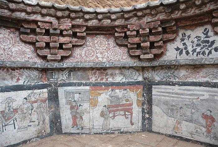 Cổ mộ hình bát giác của đôi vợ chồng Trung Quốc 700 năm trước