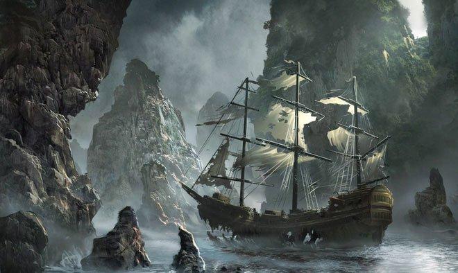 Con tàu ma Octavius: thuyền trưởng chết cóng trên ghế ngồi, tay vẫn còn cầm bút viết