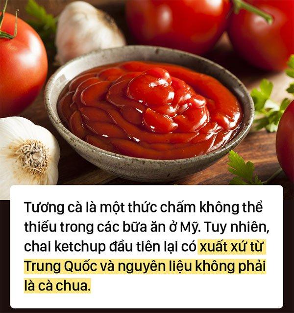 Đố bạn: Nguyên liệu ban đầu của ketchup là gì? Kết quả rất bất ngờ đấy!