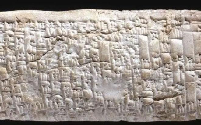 Gần 4.000 năm trước, khách hàng phàn nàn dịch vụ bằng cách nào?