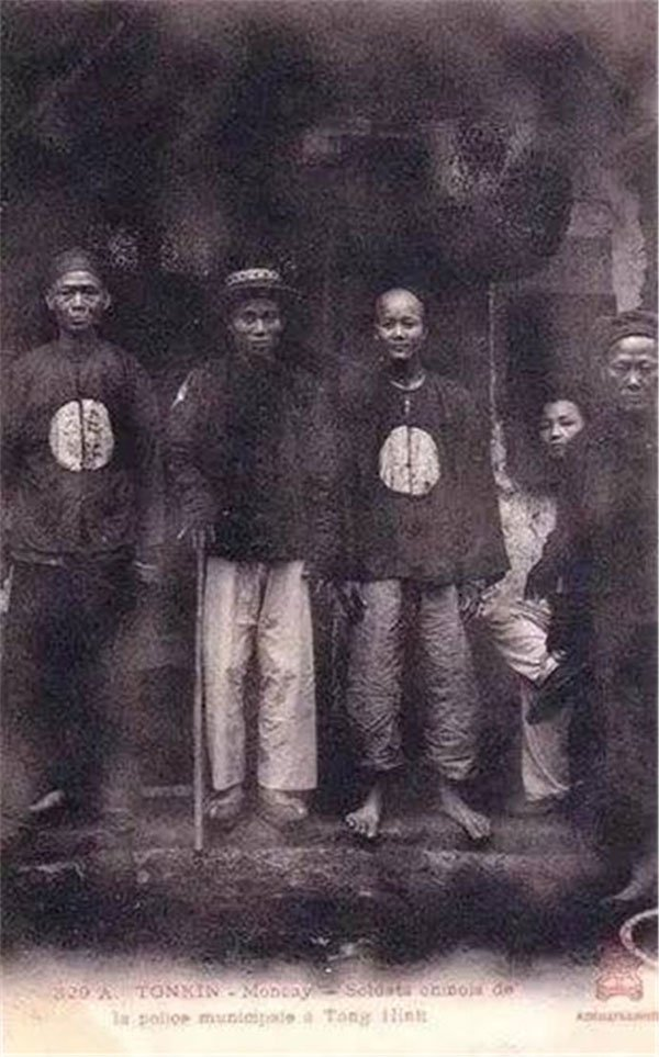 Hình ảnh chân thực về binh lính thời nhà Thanh