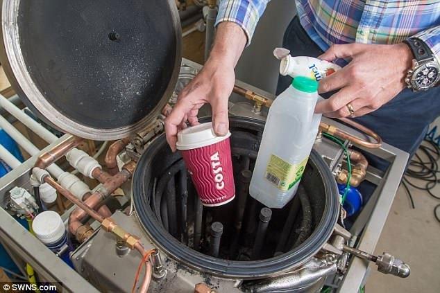 Khám phá thiết bị giúp các gia đình biến rác sinh hoạt thành năng lượng