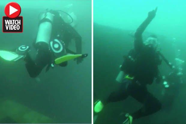 Khám phá xác tàu dưới biển sâu, hoảng hồn với điều nhìn thấy
