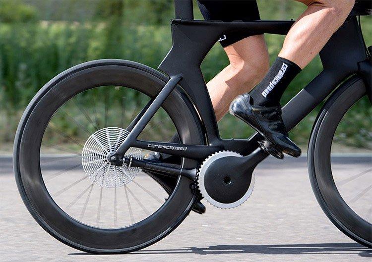 """""""Khó tin"""" chiếc xe đạp không dùng xích - bước đột phá của khoa học thế giới"""
