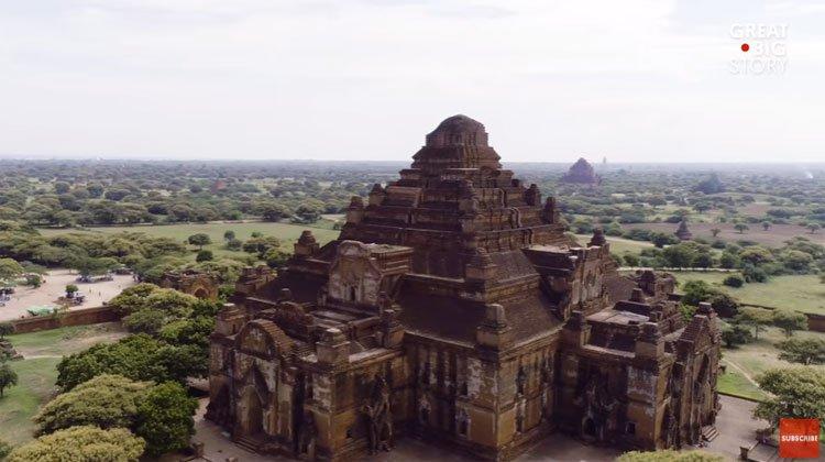 Khu khảo cổ được mệnh danh là thung lũng của những ngôi đền