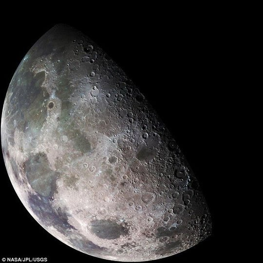 Mặt trăng đã 2 lần có sự sống rồi tận thế!
