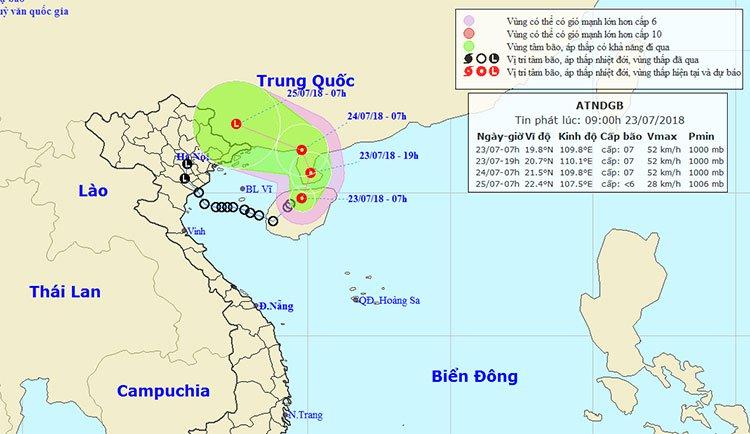 Mưa lũ trên diện rộng: Tiếp tục xuất hiện áp thấp nhiệt đới mới