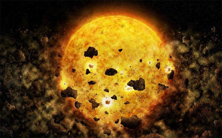 Ngôi sao ăn thịt hành tinh cách Trái Đất 450 năm ánh sáng