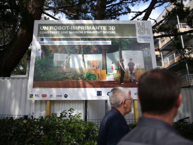 Nhà in 3D - giải pháp xây dựng nhà ở tiện dụng, giá rẻ