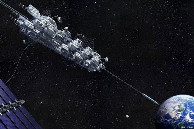 Nhật Bản sắp thử nghiệm thang máy từ mặt đất ra vũ trụ
