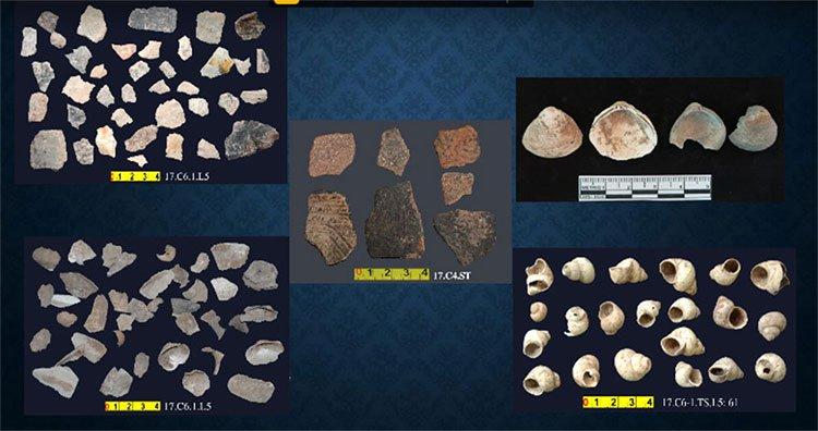 Những di vật trong hang núi lửa có xương người tiền sử ở Đăk Nông