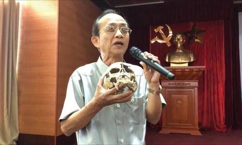 PGS Nguyễn Lân Cường kể lần đầu tiếp cận xương sọ người tiền sử