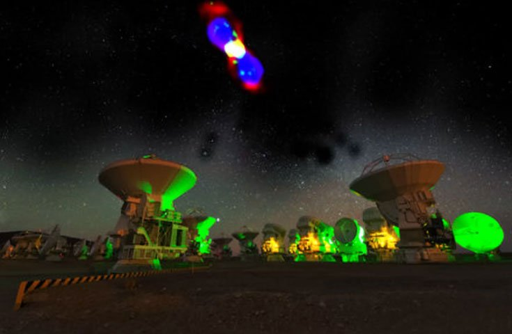 Phân tử phóng xạ lạ tìm thấy trong không gian gây kinh ngạc