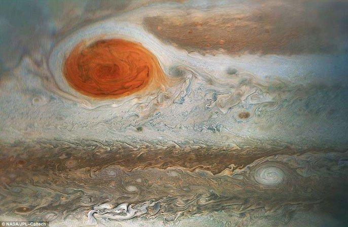 Sao Mộc có nước và khả năng tồn tại sự sống kỳ lạ