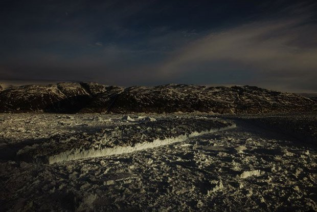 Sông băng Greenland tan vỡ, dấu hiệu rõ ràng của biến đổi khí hậu