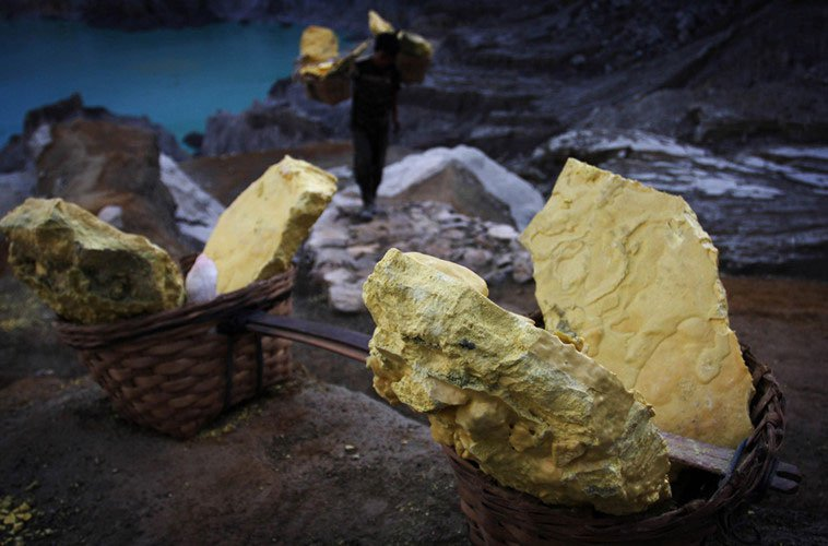 """Sự thật ngỡ ngàng về vùng đất có """"vàng của quỷ"""" nổi tiếng thế giới"""