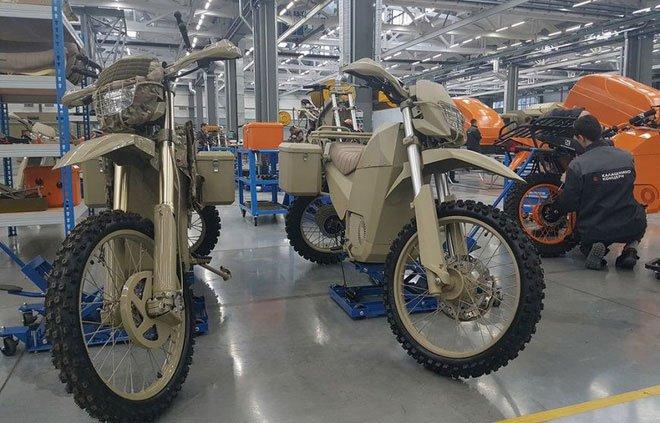 Tập đoàn Kalashnikov sản xuất xe máy điện đi 1km chỉ tốn 172 đồng tiền điện