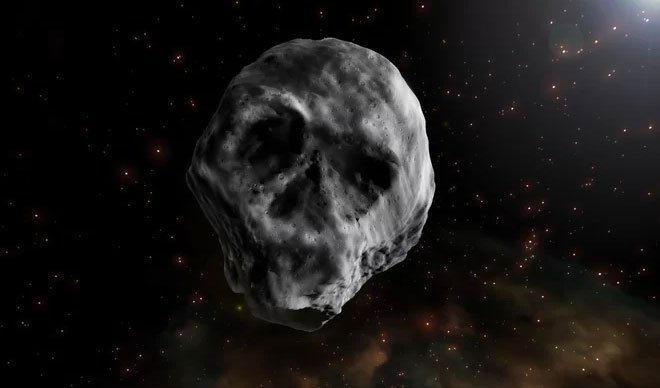 Thiên thạch hình hộp sọ sắp lao qua Trái đất