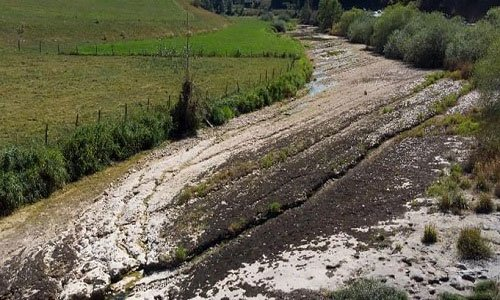 Thủ phạm hút nước khiến khúc sông hơn 1.000 mét biến mất