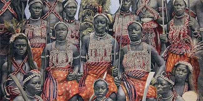 Tộc nữ chiến binh truyền thuyết ở Lục địa Đen