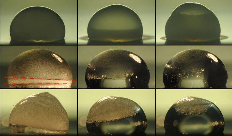 Vật liệu bẫy ánh sáng để làm tan băng mà không cần dùng điện