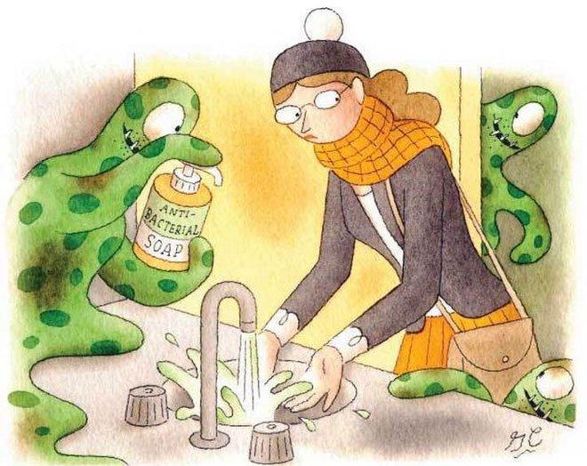 Vi khuẩn đang tự biến đổi để chống lại các dung dịch rửa và vệ sinh tay hàng ngày