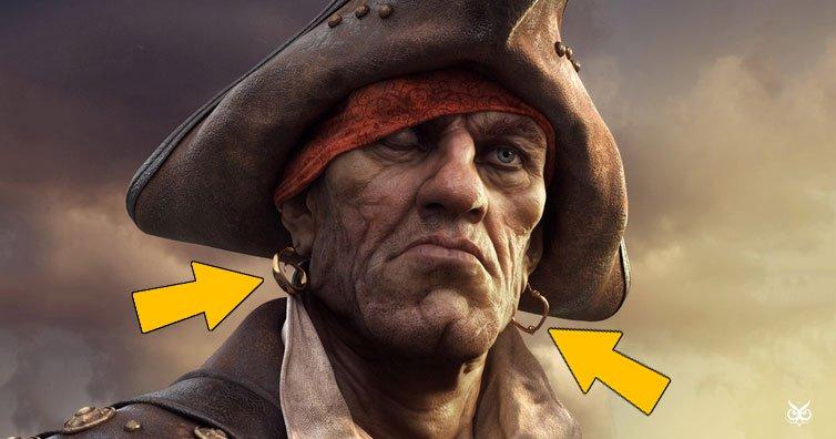 Vì sao cướp biển, thủy thủ thường đeo vật dụng này?