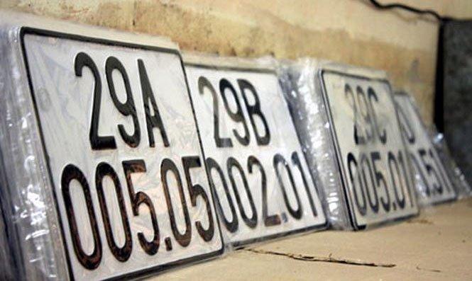 Ý nghĩa dấu chấm giữa biển số xe 5 số không mấy ai hiểu được