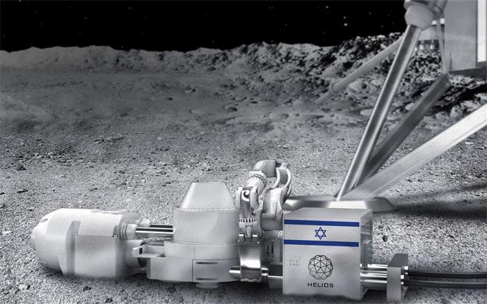 1 tấn đất Mặt trăng chiết xuất 250kg oxy, công ty Nhật và Israel sẽ tạo không khí trên Mặt trăng